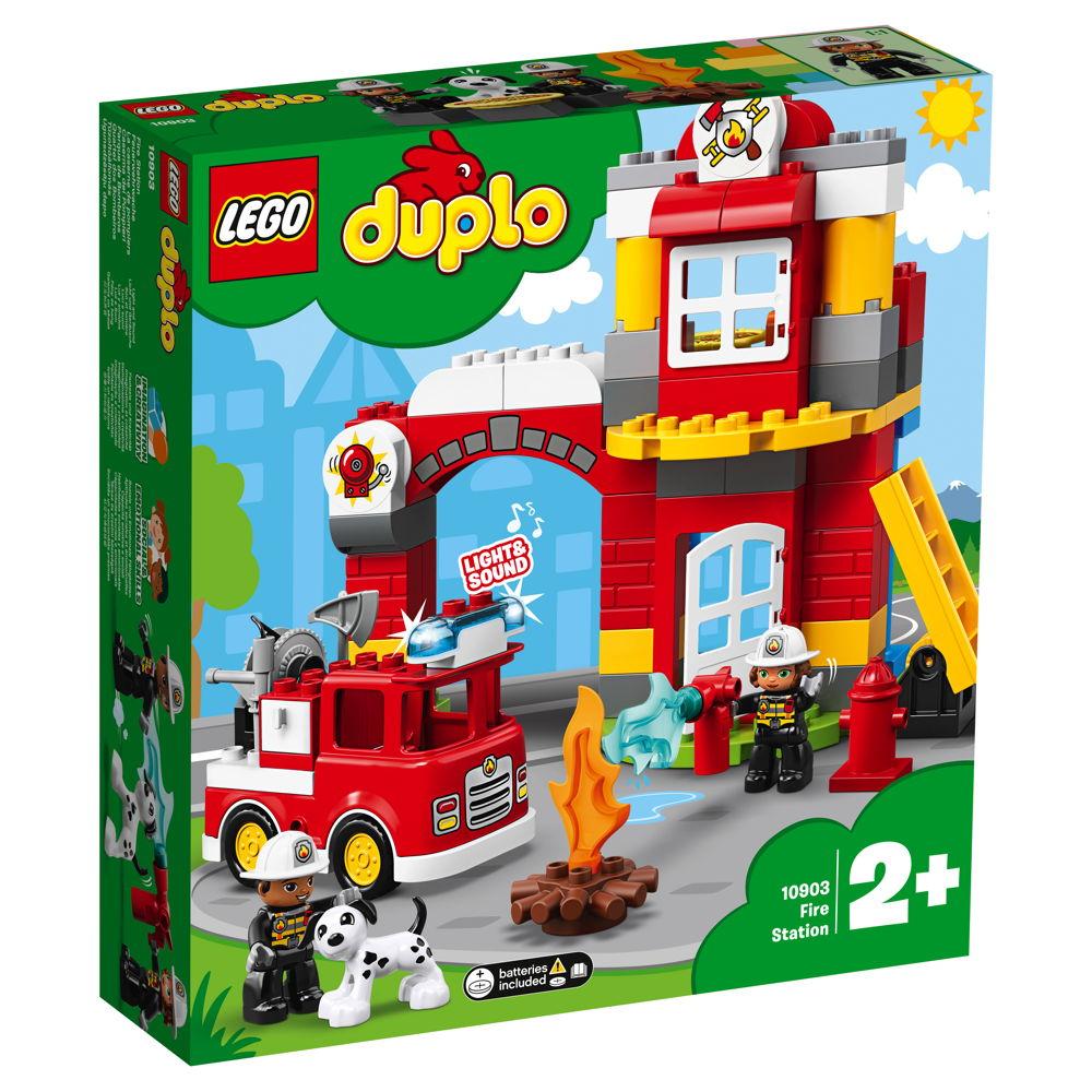 LEGO® DUPLO® Feuerwehr Feuerwehrwache 76 Teile 10903