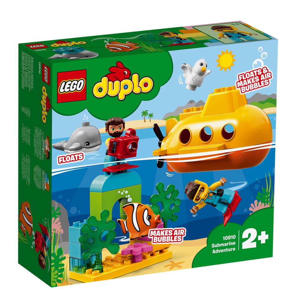LEGO® DUPLO® U-Boot-Abenteuer 24 Teile 10910