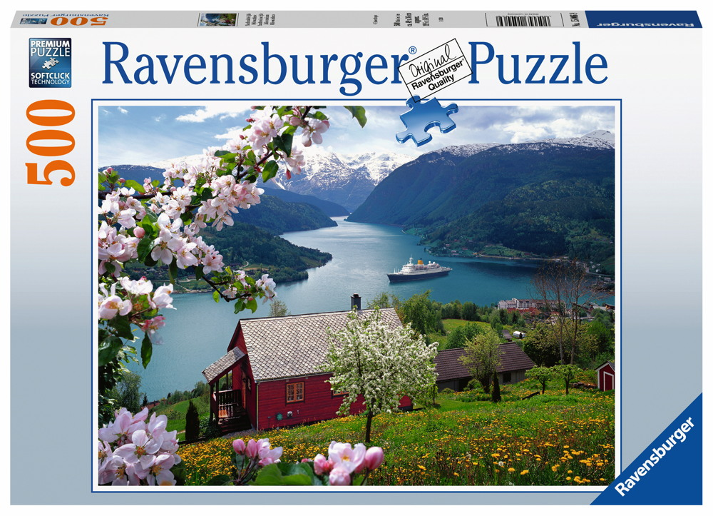 500 Teile Ravensburger Puzzle Skandinavische Idylle 15006