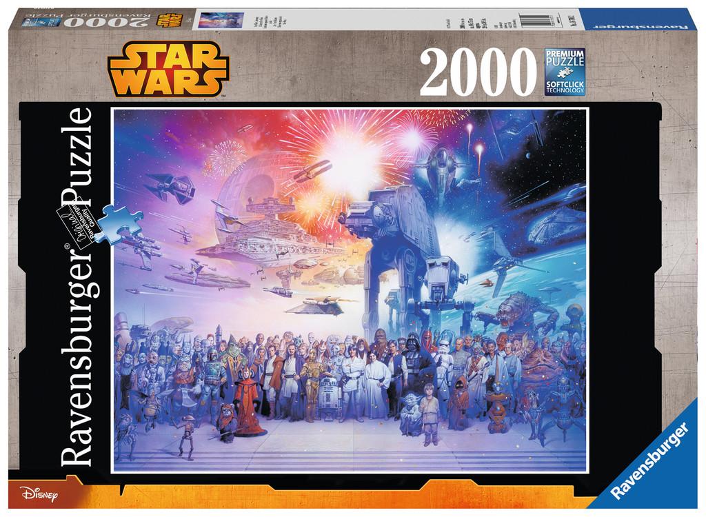 2000 teile ravensburger puzzle star wars universum 16701. Black Bedroom Furniture Sets. Home Design Ideas