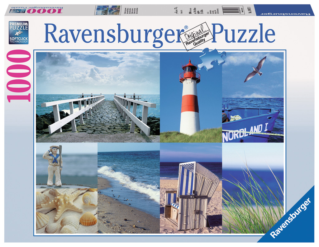 Ravensburger Maritime Impressionen 1000 Teile
