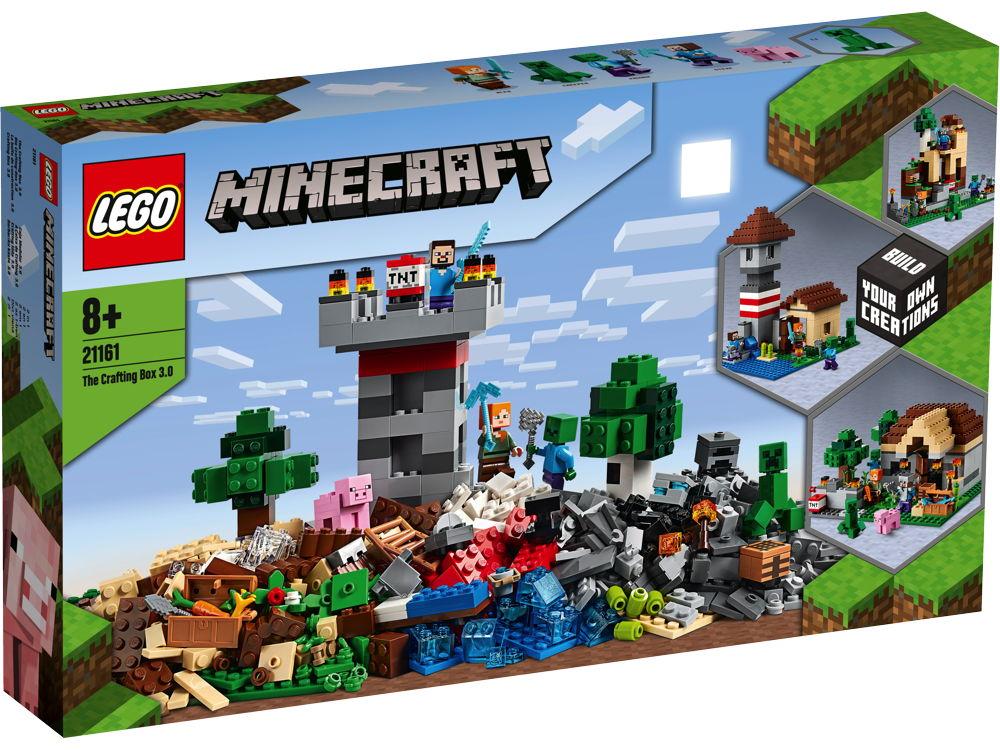 LEGO® Minecraft™ Die Crafting-Box 3.0 564 Teile 21161