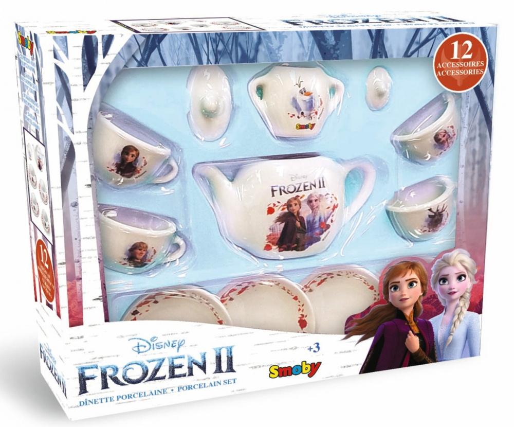 Smoby Spielwelten Küche Porzellan Geschirrset Disney Frozen 2 7600310592