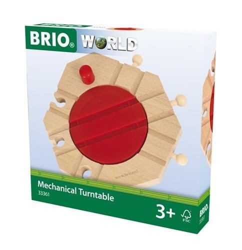 Brio World Eisenbahn Drehscheibe Mechanische Drehscheibe 33361