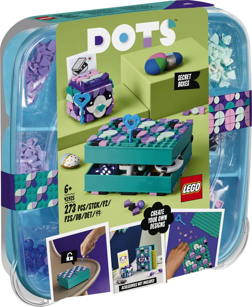 LEGO® DOTS Geheimbox mit Schlüsselhalter 273 Teile 41925
