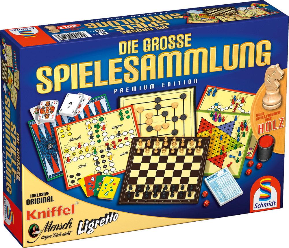 Schmidt Spiele Familienspiel Spielesammlung Die große Spielesammlung 49125