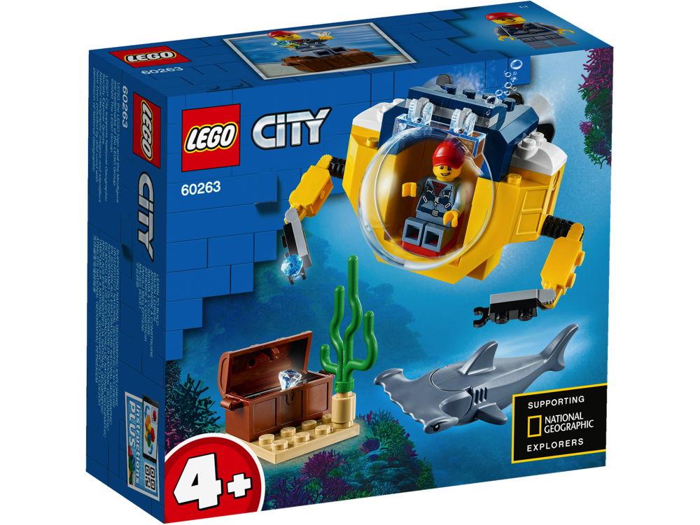 LEGO® City Mini-U-Boot für Meeresforscher 41 Teile 60263