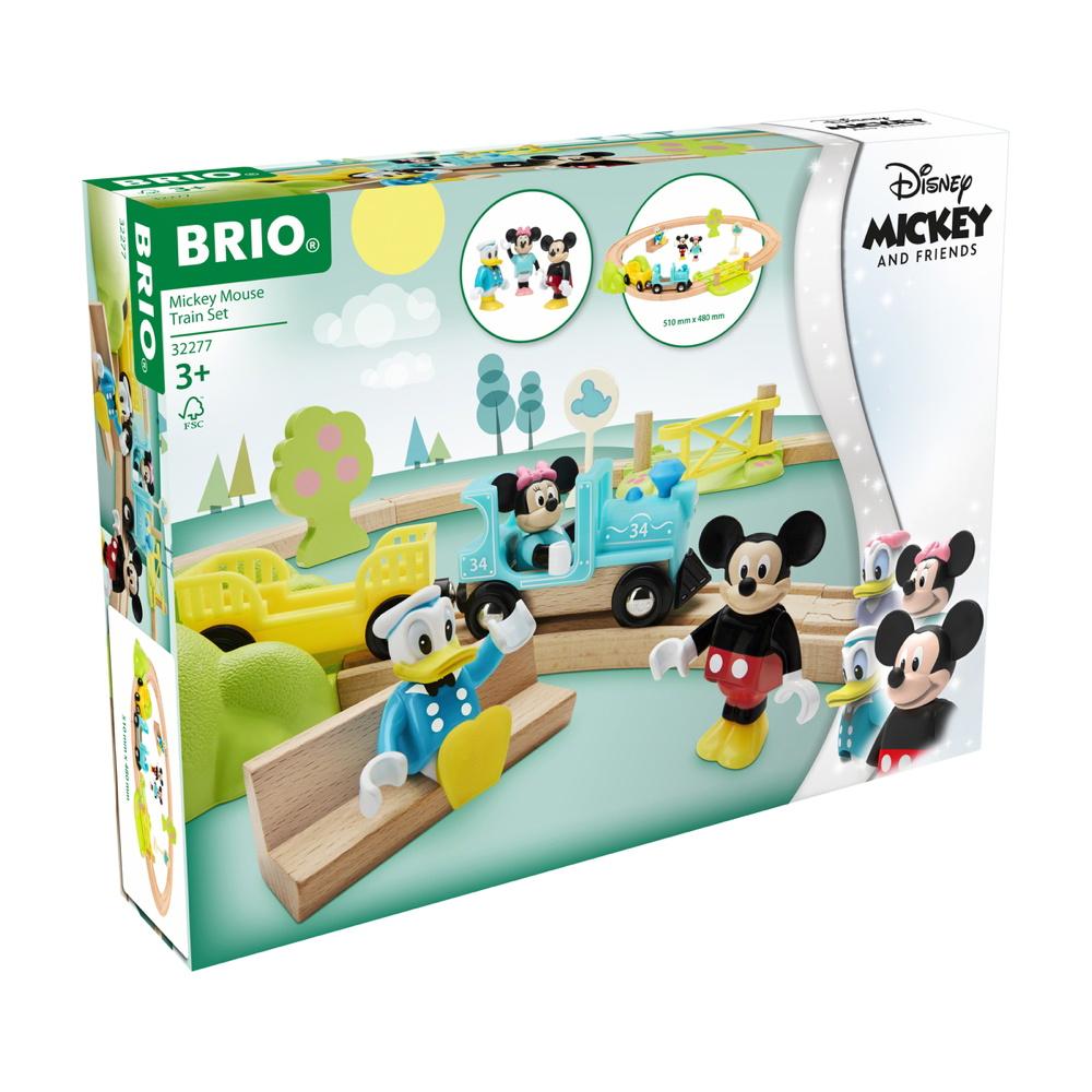 Brio World Eisenbahn Set Micky Maus Eisenbahn Set 18 Teile 32277