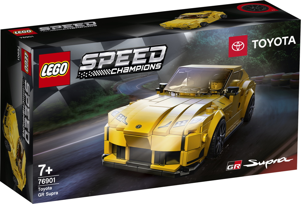 LEGO® Speed Champions Toyota GR Supra 299 Teile 76901
