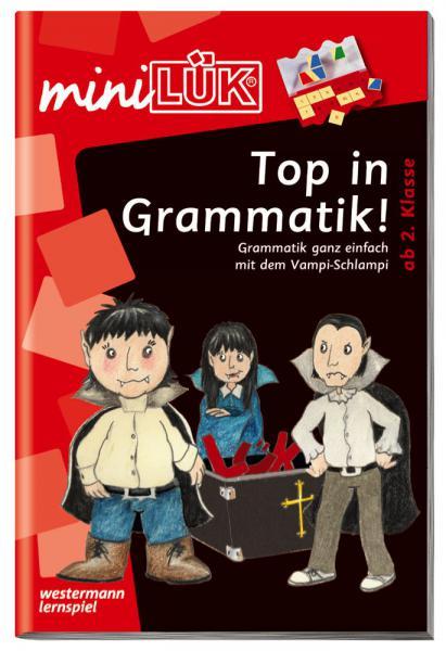 LÜK miniLÜK Buch Top in Grammatik ab 7 Jahren 4176