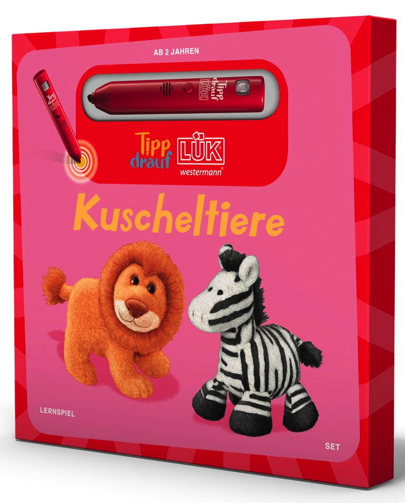 LÜK Tipp drauf! LÜK Set Buch Stift Kuscheltier Kuscheltiere ab 2 Jahren 5501