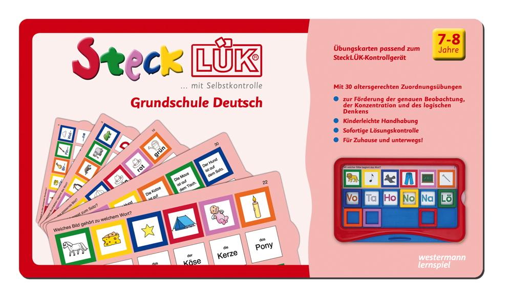LÜK SteckLÜK Grundschule Deutsch ab 7 Jahren 8224
