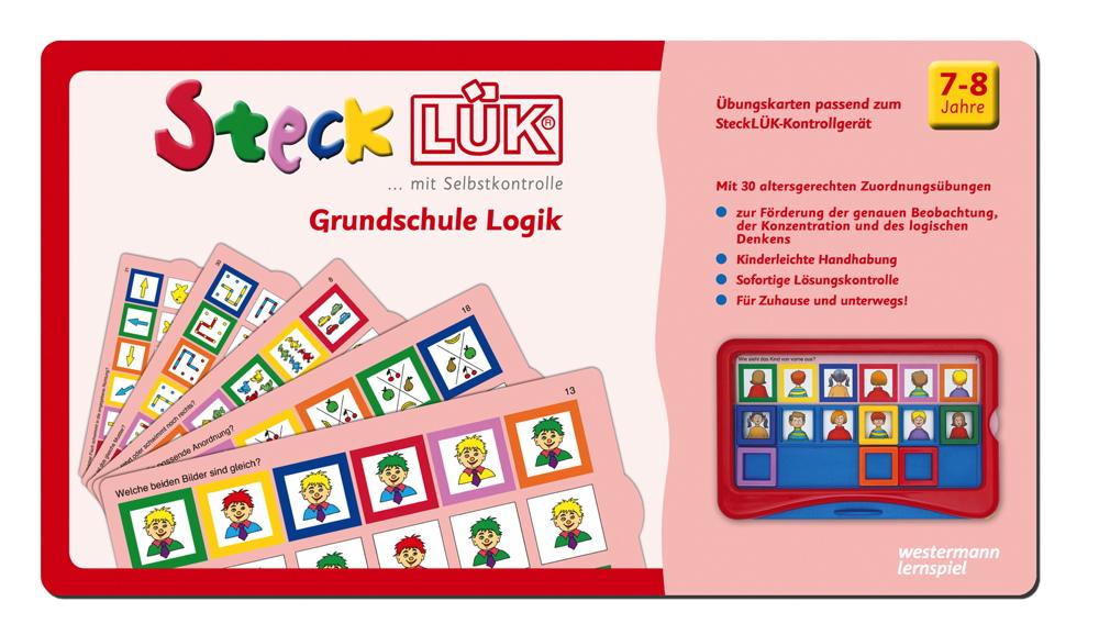 LÜK SteckLÜK Grundschule Logik 1 ab 7 Jahren 8225