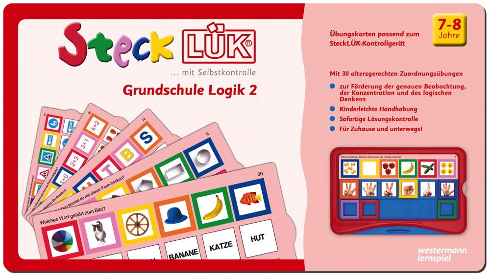 LÜK SteckLÜK Grundschule Logik 2 ab 7 Jahren 8226