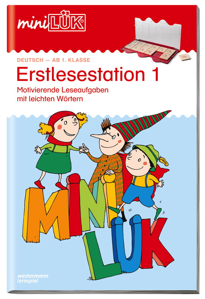 LÜK miniLÜK Buch Erstlesestation 1 ab 6 Jahren 152