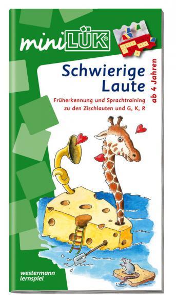 LÜK miniLÜK Buch Schwierige Laute ab 4 Jahren 324
