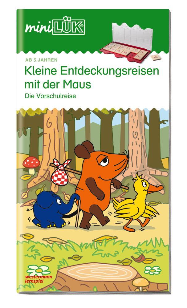 LÜK miniLÜK Buch Kleine Entdeckungsreise mit der Maus ab 5 Jahren 356