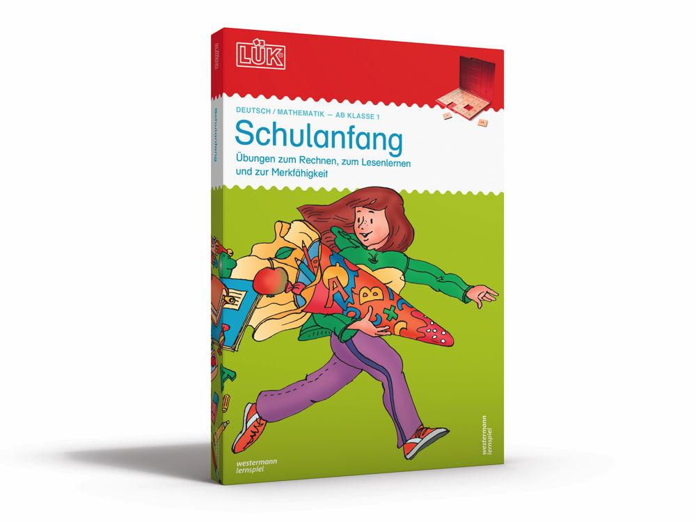 LÜK Set Buch und Kontrollgerät Schulanfang ab 6 Jahren 920