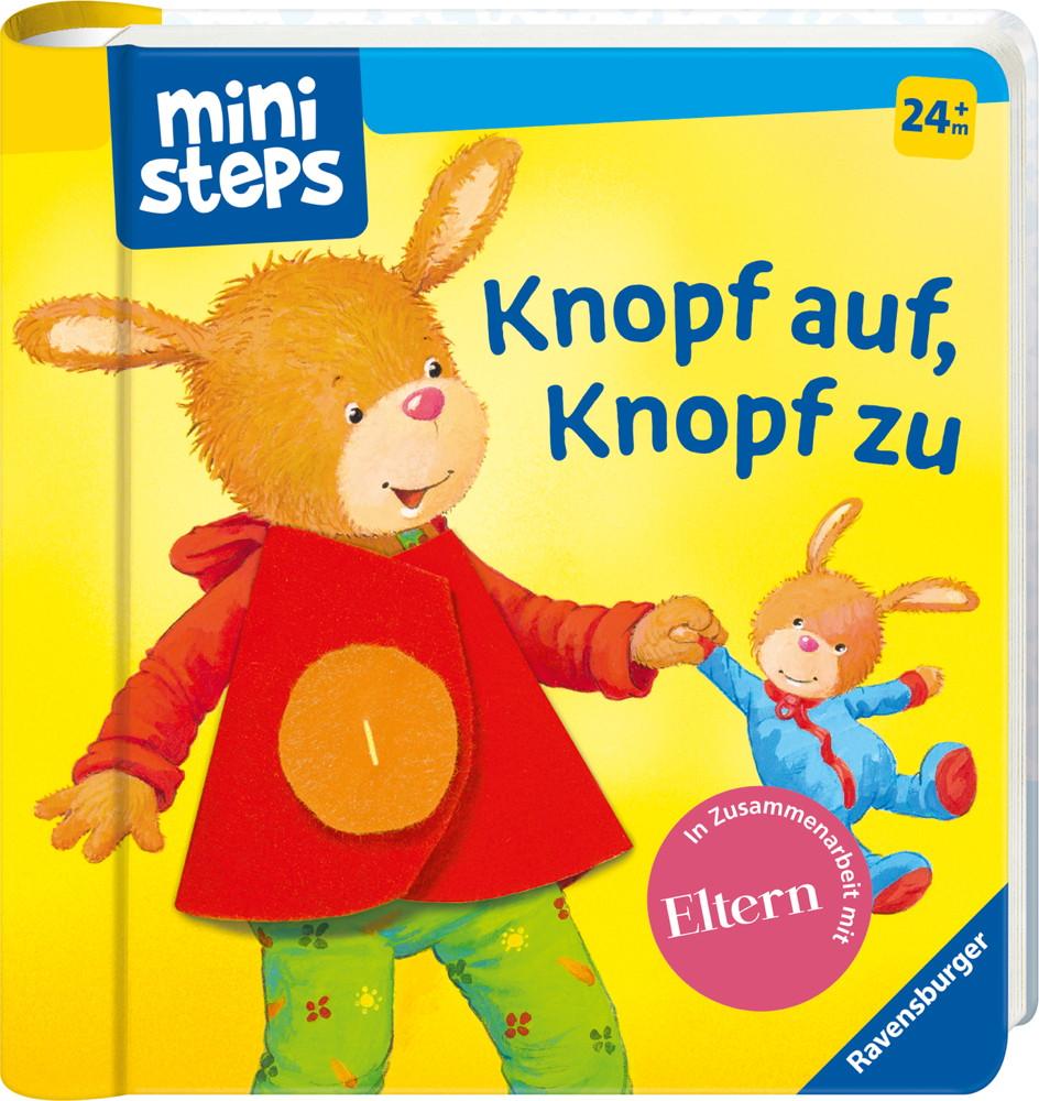 Ravensburger ministeps Buch Knopf auf, Knopf zu 31765