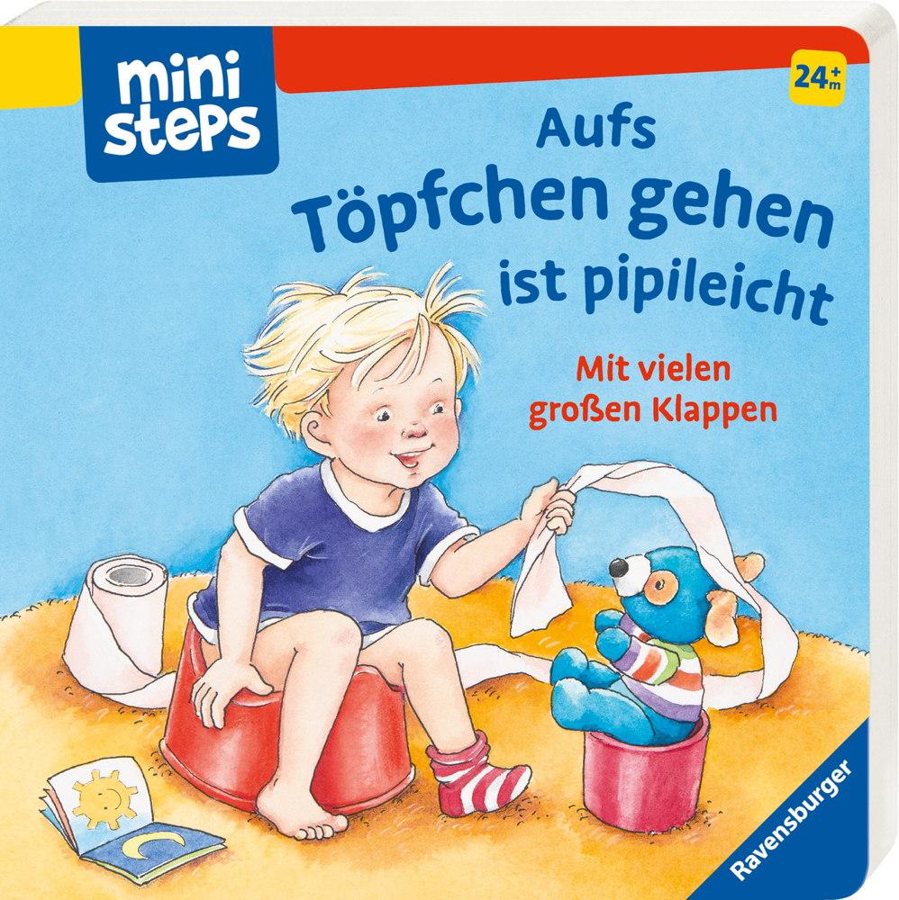 Ravensburger ministeps Buch Aufs Töpfchen gehen ist pipileicht 31792