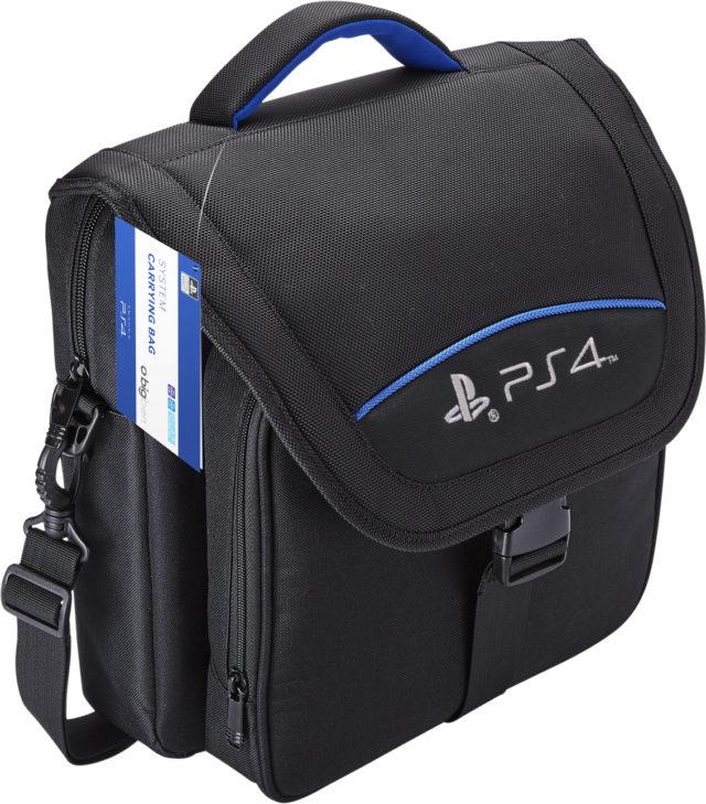 Bigben Playstation 4 Tasche Aufbewahrung Transport schwarz PS4 Slim, Pro BB356021