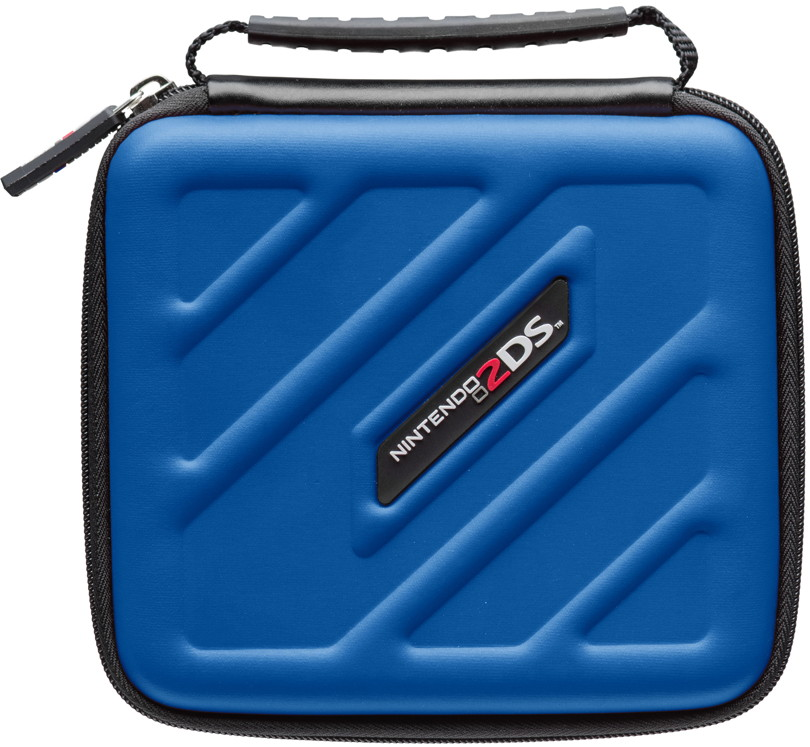 Bigben nintendo 2ds tasche 2ds205 case blau al106158 for Housse 2ds bigben