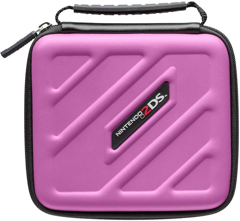 Bigben nintendo 2ds tasche 2ds205 case pink al106158 for Housse 2ds bigben