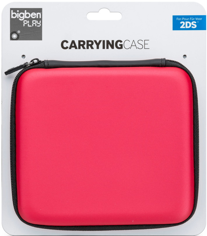 Bigben nintendo 2ds tasche classic case rot bb321142 for Housse 2ds bigben