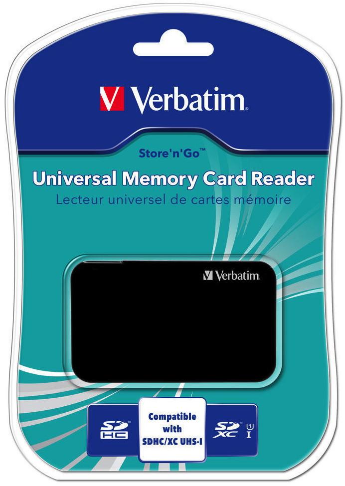 Verbatim Card Reader Universal Micro Card Sd Sdhc Sdxc