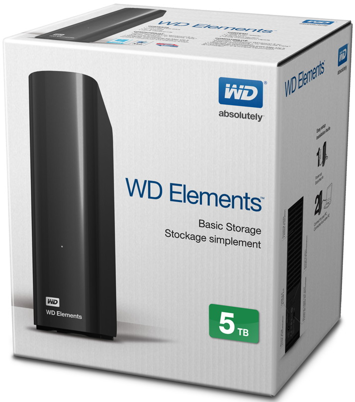 wd western digital hdd externe festplatte elements desktop. Black Bedroom Furniture Sets. Home Design Ideas