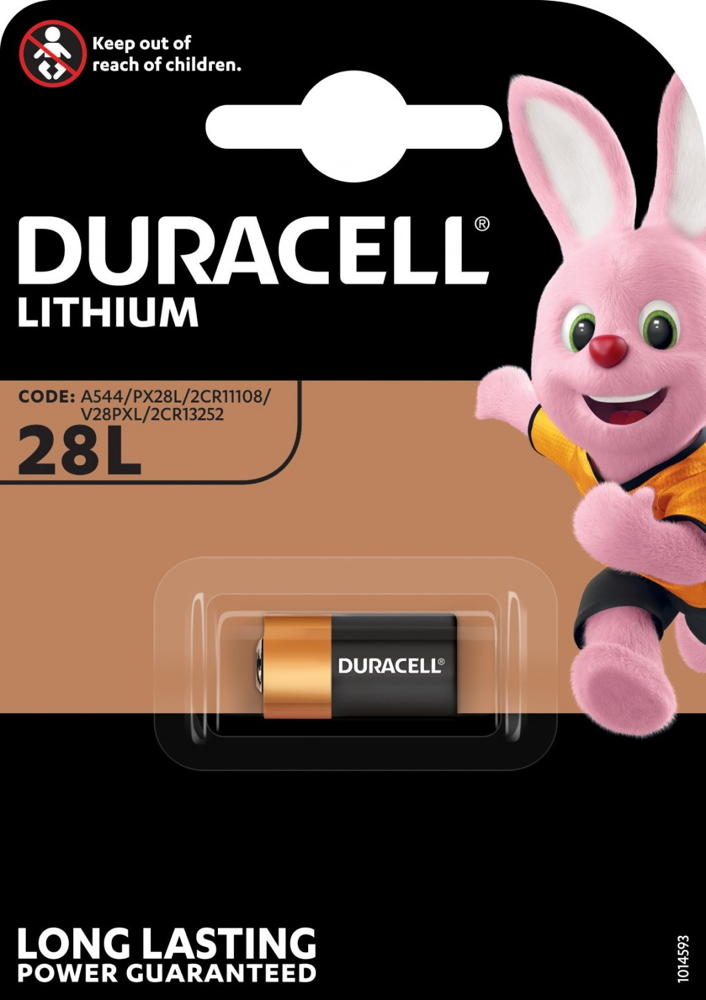 2 Duracell Ultra Photo 28L / PX28L / 2CR11108 Lithium Batterien Blister