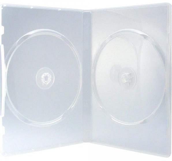 50 professional dvd h llen 2er box 14 mm f r je 2 bd cd dvd transparent. Black Bedroom Furniture Sets. Home Design Ideas
