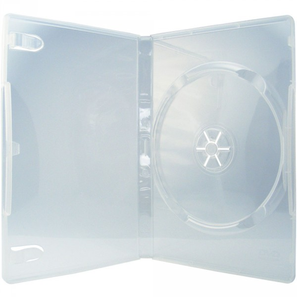 100 professional dvd h llen 1er box 14 mm f r je 1 bd cd dvd transparent ebay. Black Bedroom Furniture Sets. Home Design Ideas