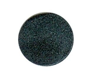 1500 Hartschaumpunkt schwarz, selbstklepend 15,5 mm