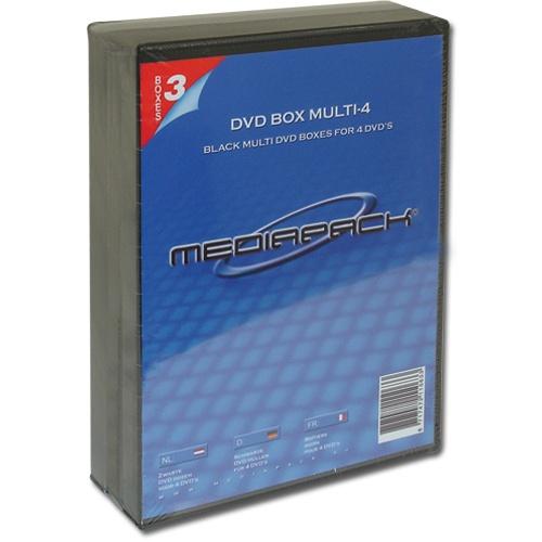 3 Mediapack DVD Hüllen für je 4 CD/DVD