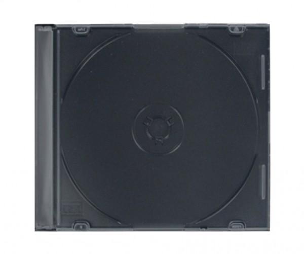 100 Slimcase Leerhülle für 1 CD / DVD