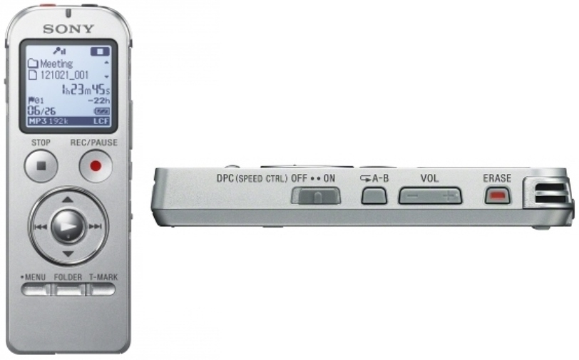 NEW Sony ICD-UX533 Digital Flash Voice Recorder Dictaphone ...