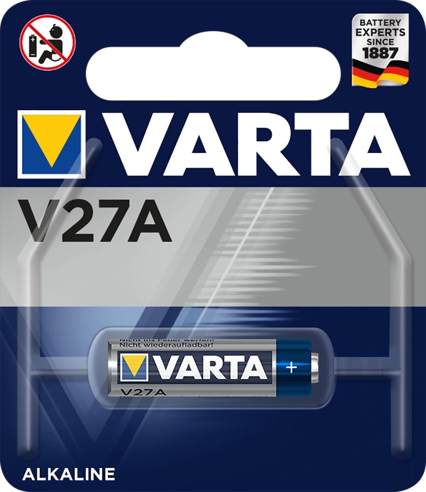 1 Varta 4227 Professional V27A / LR27 / MN27 Alkaline Batterie Blister