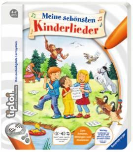 Ravensburger tiptoi Buch Meine schönsten Kinderlieder 43514 - Bild vergrößern