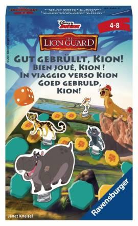 Ravensburger Mitbringspiel Würfellaufspiel Disney König der Löwen Gut gebrüllt, Kion! 23423 - Bild vergrößern