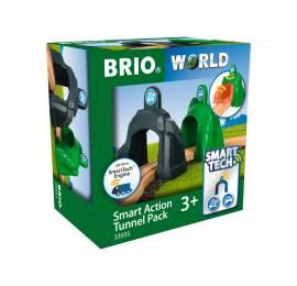 Brio World Eisenbahn Zubehör Smart Tech Action Tunnels Geschwindigkeit 2 Teile 33935 - Bild vergrößern