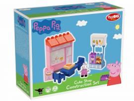 BIG Spielzeug Steckbausteine Bloxx Cafe Cake Shop Peppa Pig 22 Teile 800057108 - Bild vergrößern