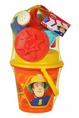 Simba Outdoor Spielzeug Sand & Strand Eimergarnitur Fireman Sam 109256114 - Bild vergrößern
