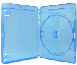 50 Amaray Blu-ray Hüllen 1er Box 11 mm für je 1 BD / CD / DVD blau - Bild vergrößern