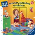 Ravensburger ministeps Buch Anziehen, Ausziehen, Umziehen! 04092