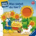 Ravensburger ministeps Buch Was siehst Du hier? Mein großes Gucklochbuch 04093