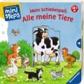 Ravensburger ministeps Buch Mein Schiebespaß Alle meine Tiere 04110