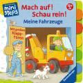 Ravensburger ministeps Buch Mach auf! Schau rein! Meine Fahrzeuge 31759
