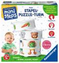 Ravensburger ministeps Spielzeug Mein Stapel-Puzzle-Turm 04505