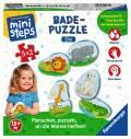 Ravensburger ministeps Spielzeug Badepuzzle Zoo 04538